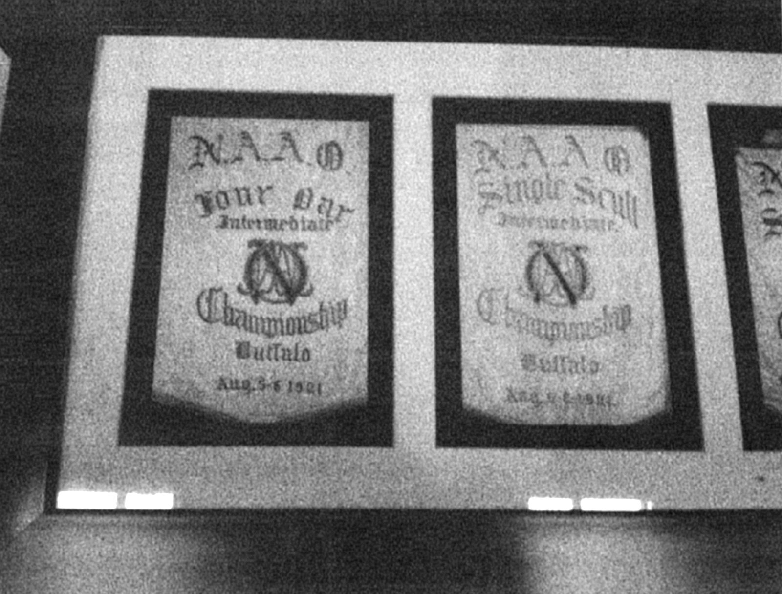 The West Side Rowing Club's victory banners will be returned to the walls of the clubhouse.