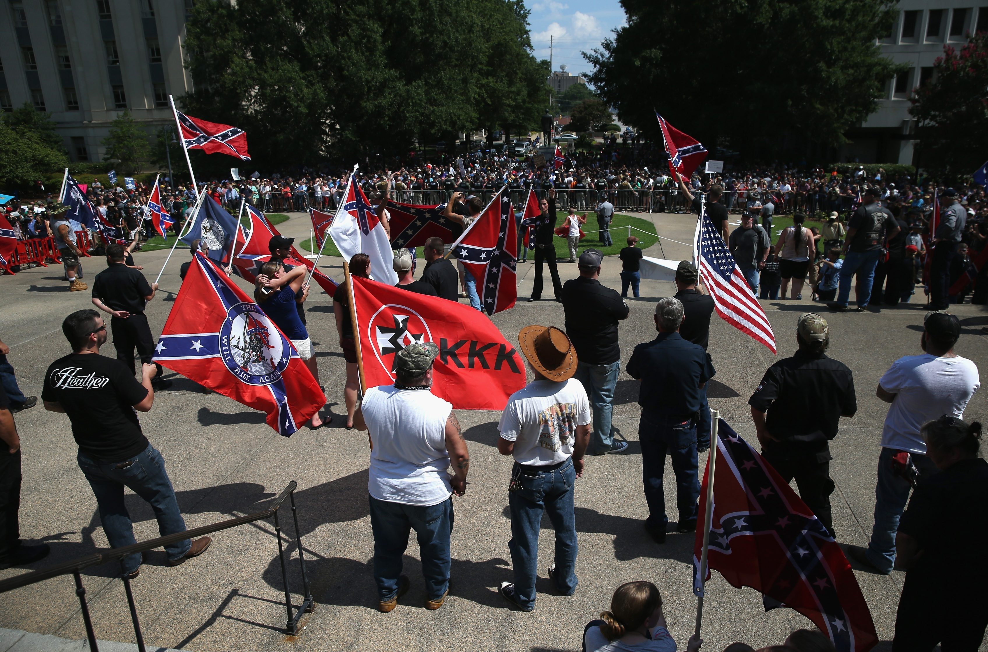 the confederate flag is down but racism remains alive the buffalo