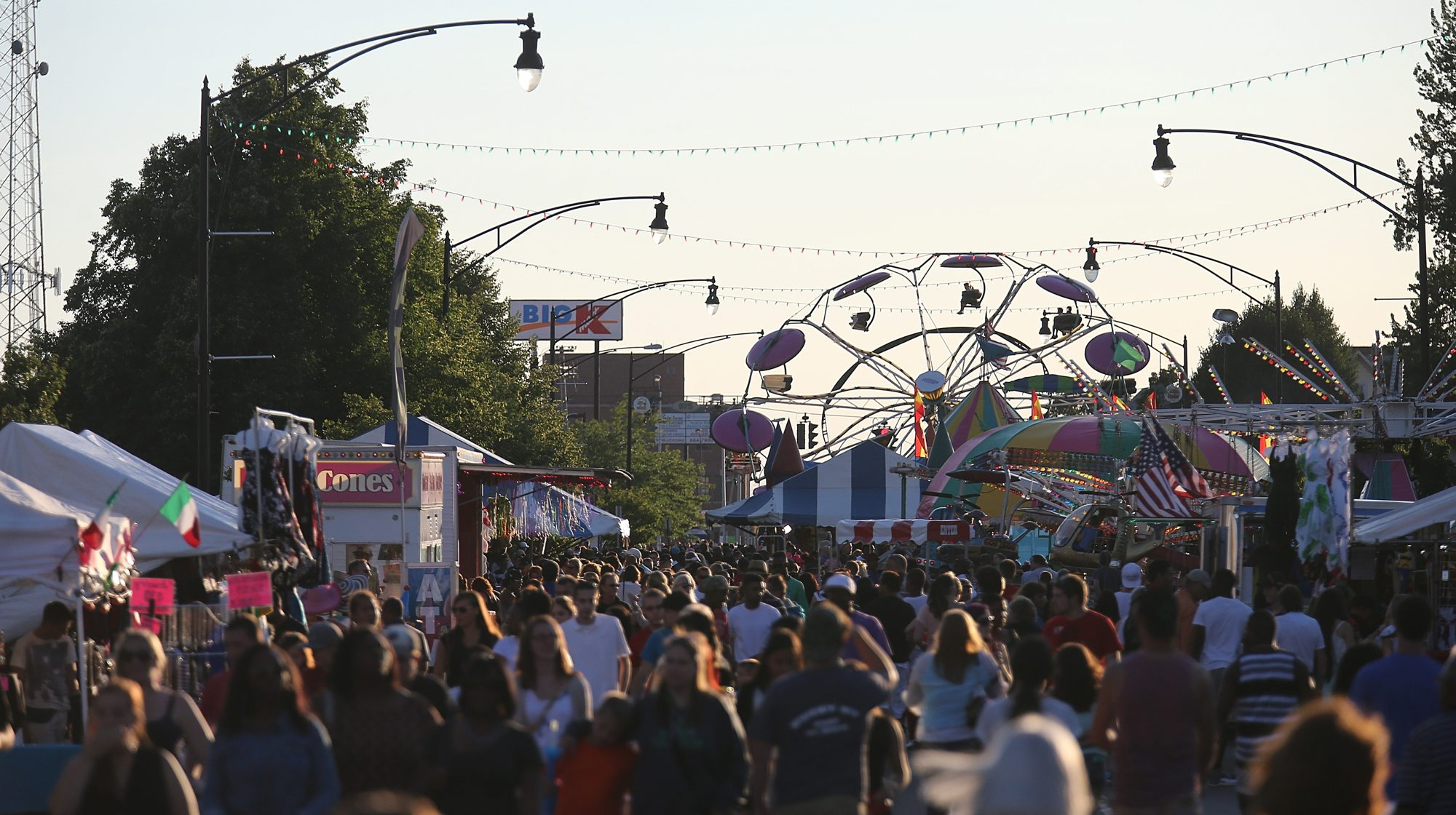 Hertel Avenue was packed with pedestrians during last year's festival (Buffalo News file photo)