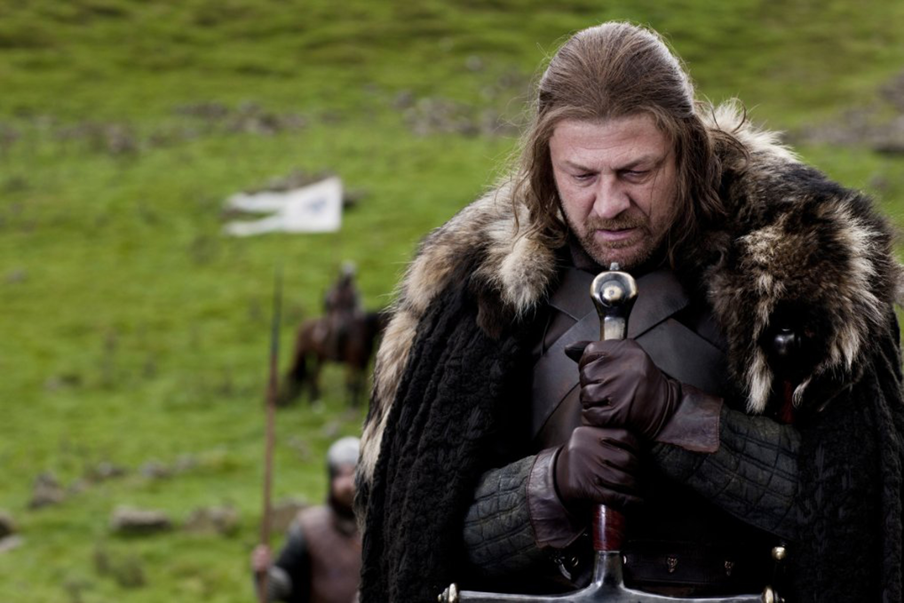 "Since the entire show rests on it, it's OK to publicly mention that Eddard Stark is executed at the end of season one of ""Game of Thrones."" (Nick Briggs/HBO/TNS)"