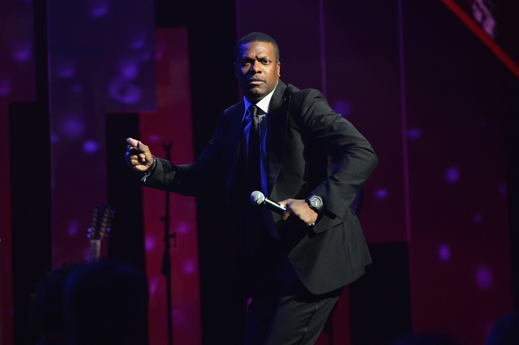 Chris Tucker's first full-length stand-up special debuted on Neflix last week.