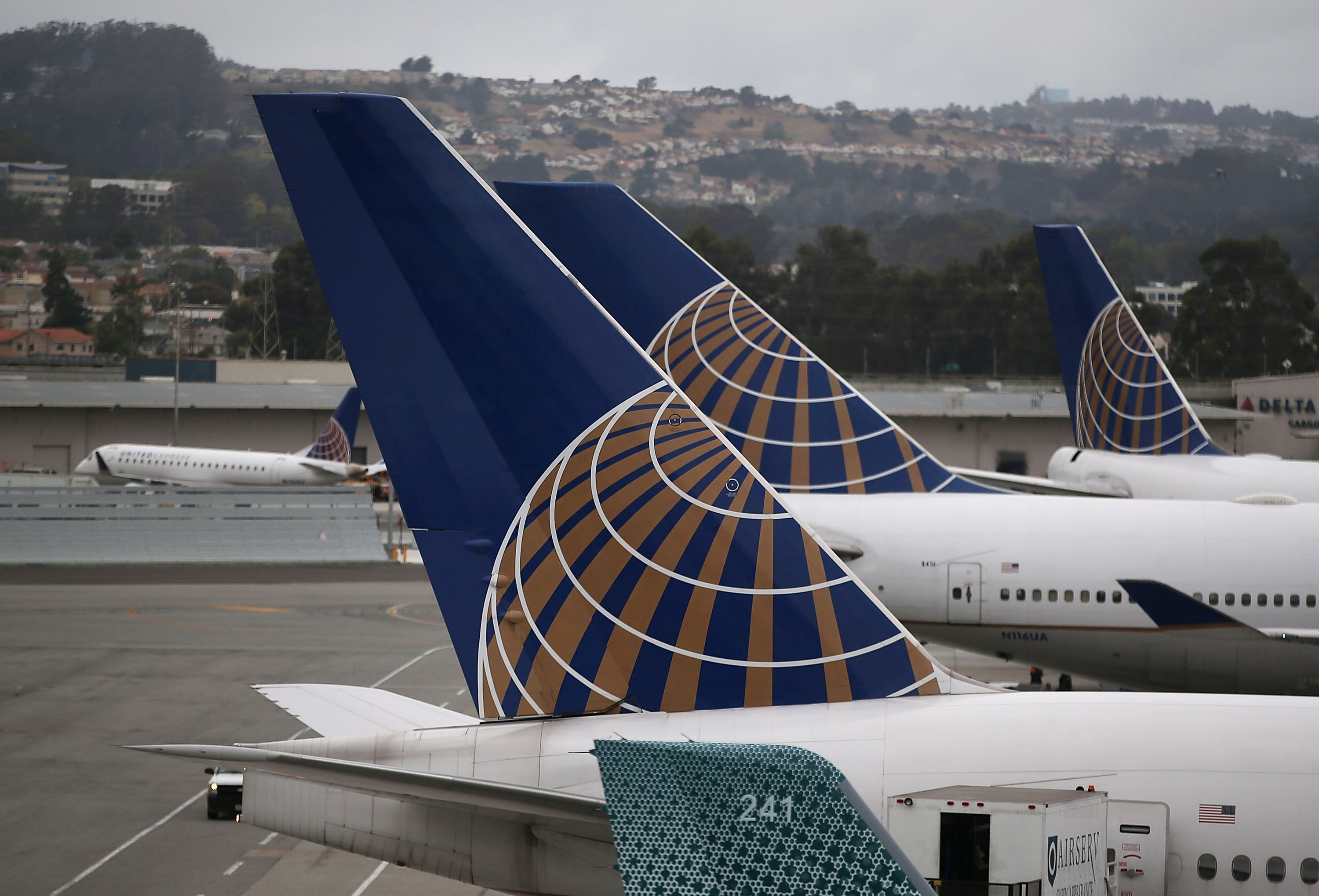 The computer glitch that suspended flights at United Airlines is a reminder of the vulnerability of our Web-based society. (Getty Images)