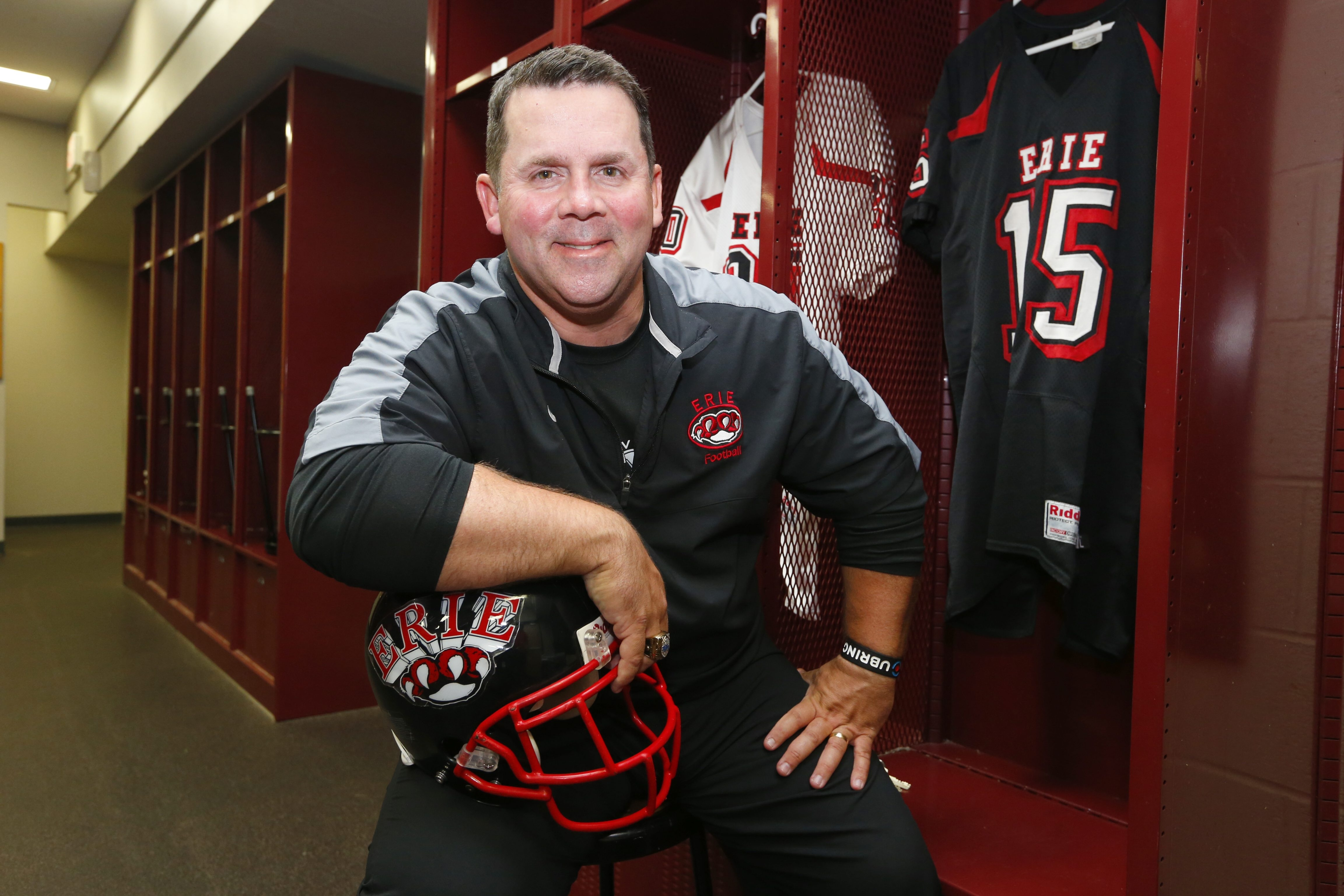 Scott Pilkey, who worked for eight years under UB coaches Turner Gill and Jeff Quinn, looks to build success as head coach at ECC.