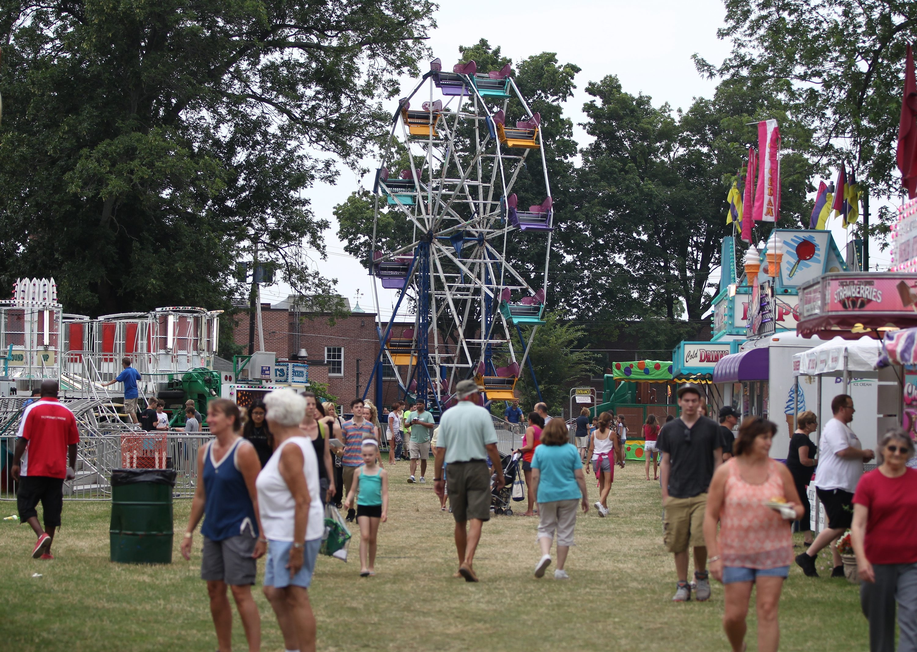 Old Home Days festival, which begins Tuesday in Williamsville, will have new rules this year, including an Island Park ban on under-16 youths after 6 p.m. if not with an adult.