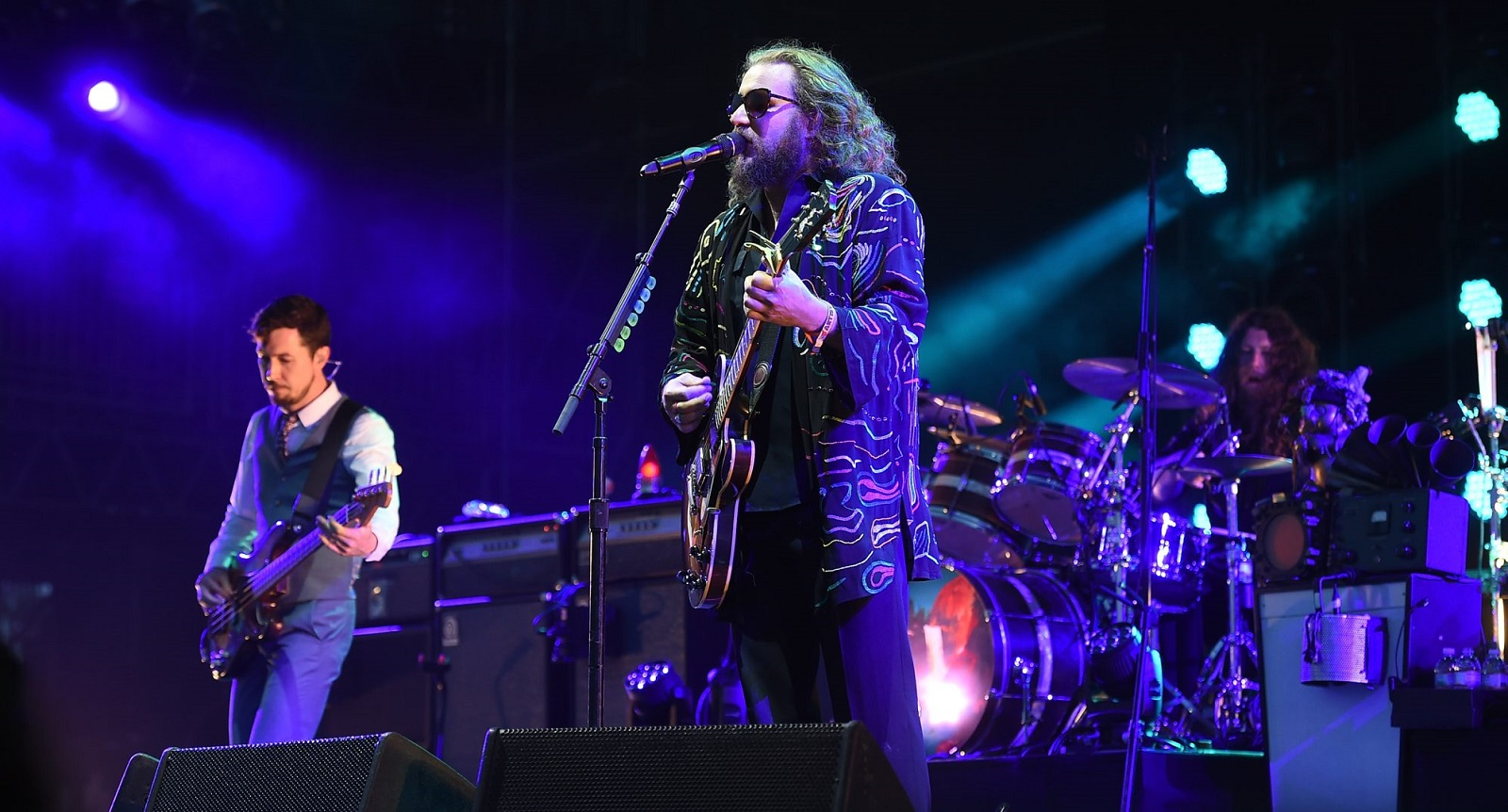 My Morning Jacket, which is pictured playing Bonnaroo in June, performed at Artpark for Coors Light Wednesdays. (Getty Images)