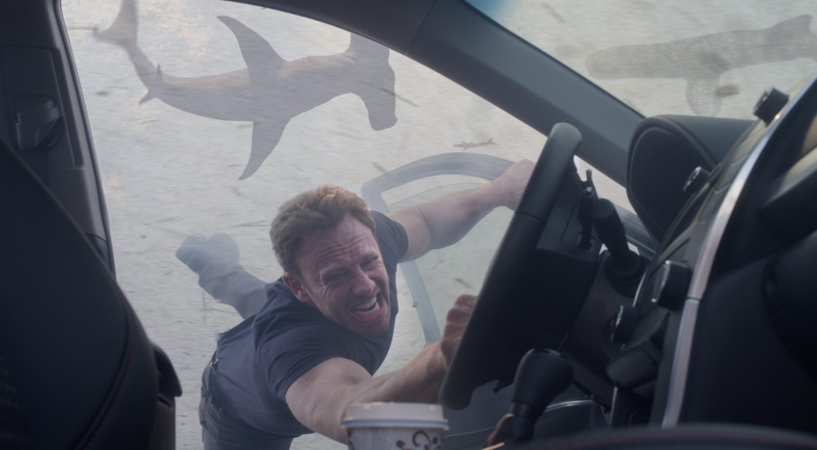 Ian Ziering as Fin Shepard in 'Sharknado 3: Oh Hell No!' (Photo by: Syfy)