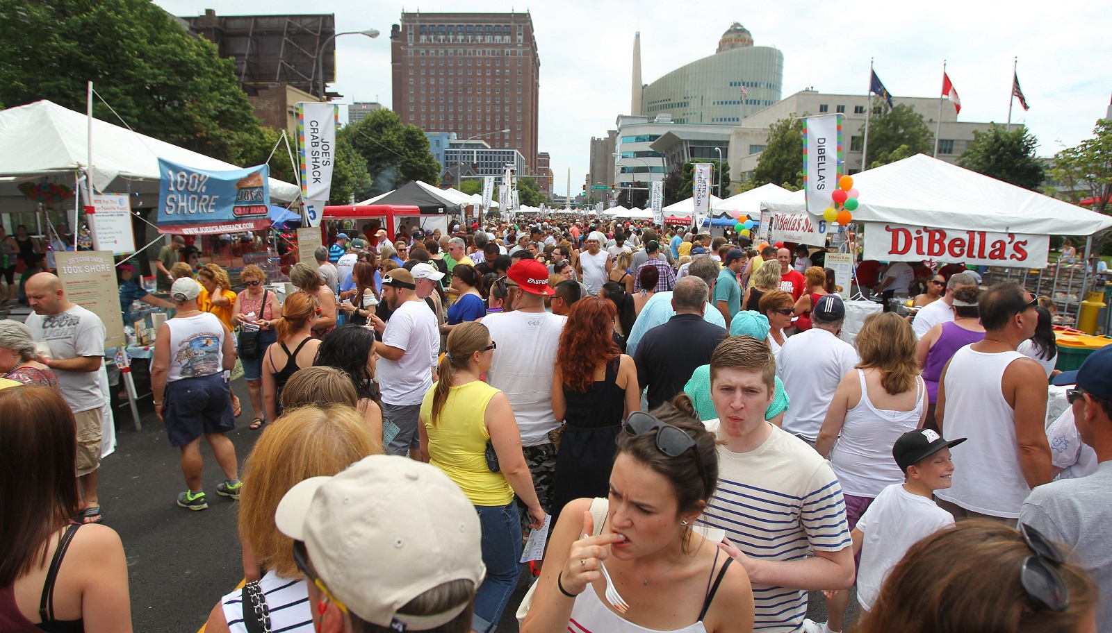 The Taste of Buffalo, which draws nearly 500,000 people annually, is among this week's iteration of The 10. (Mark Mulville/Buffalo News file photo)