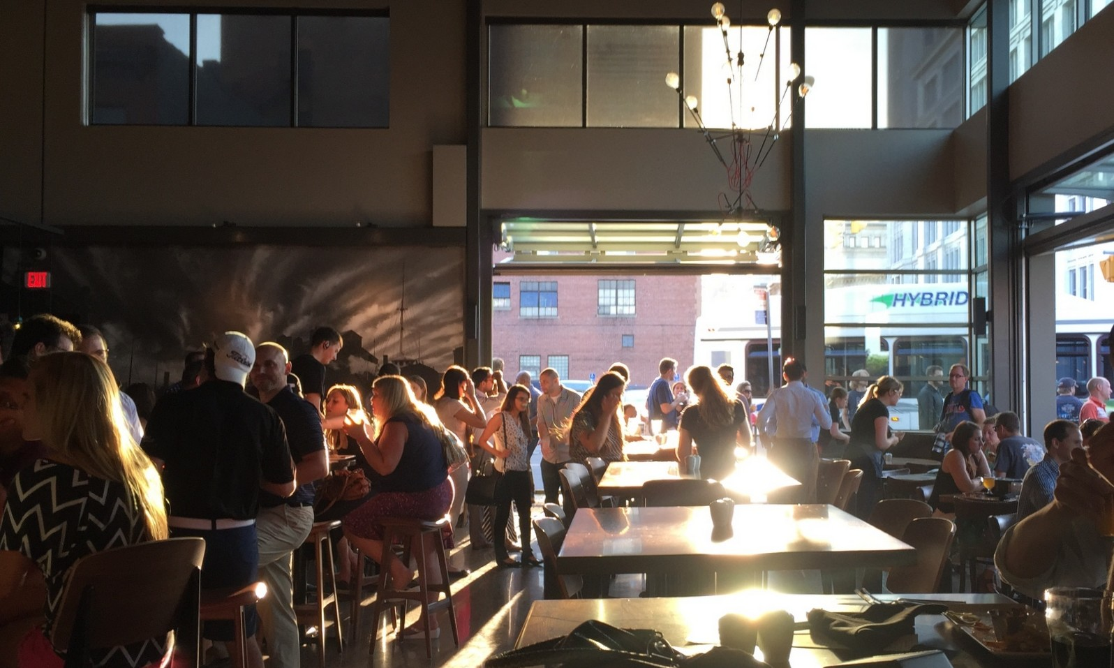 Big Ditch Brewing Co. celebrates its second anniversary with a party, new beer. (Andrew Galarneau/Buffalo News)