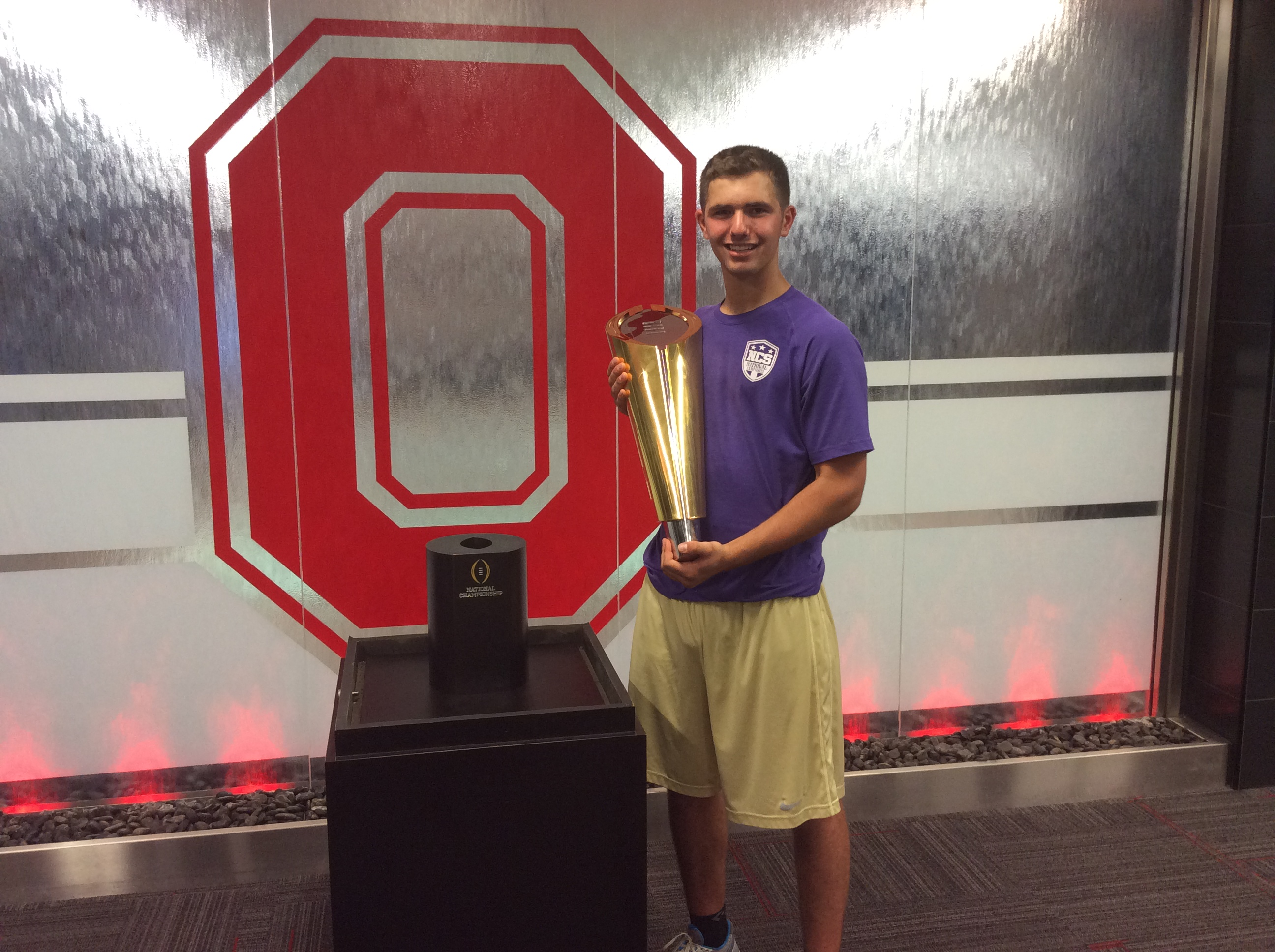 Blake Haubeil will join an Ohio State program that expects to continue contending for national championships.