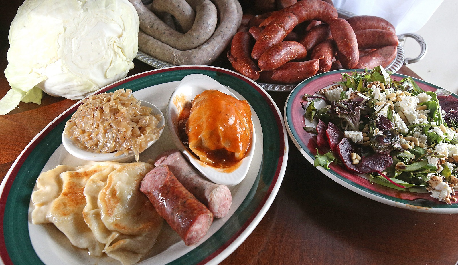 The signature dish, the Polish Platter, at Polish Villa II.  (Robert Kirkham/Buffalo News file photo)