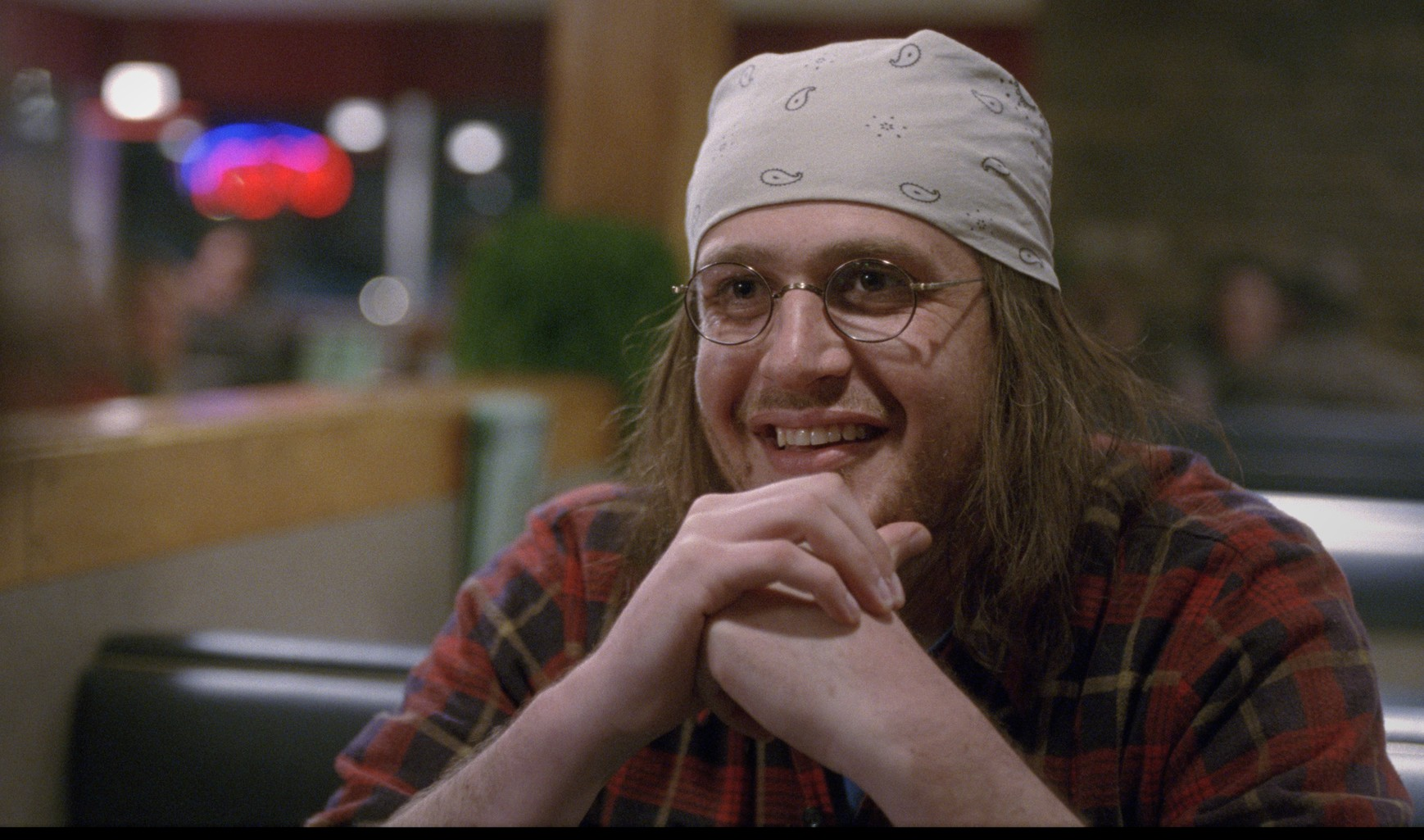 'The End of the Tour' is about writer David Foster Wallace, who electrified the literary world. Wallace is portrayed by Jason Segel.