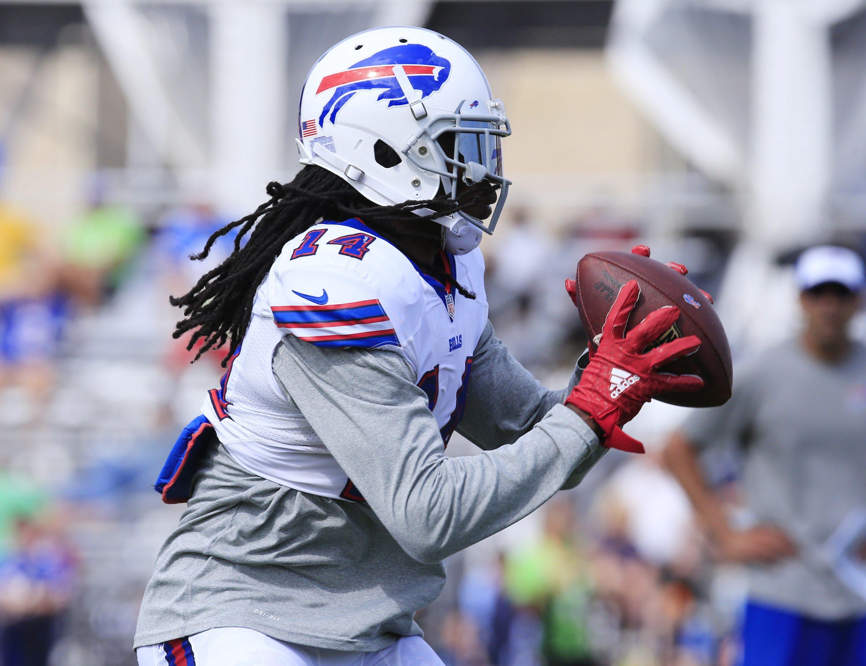 Bills receiver Sammy Watkins had an eventful Wednesday thanks to social media. (James P. McCoy/Buffalo News)