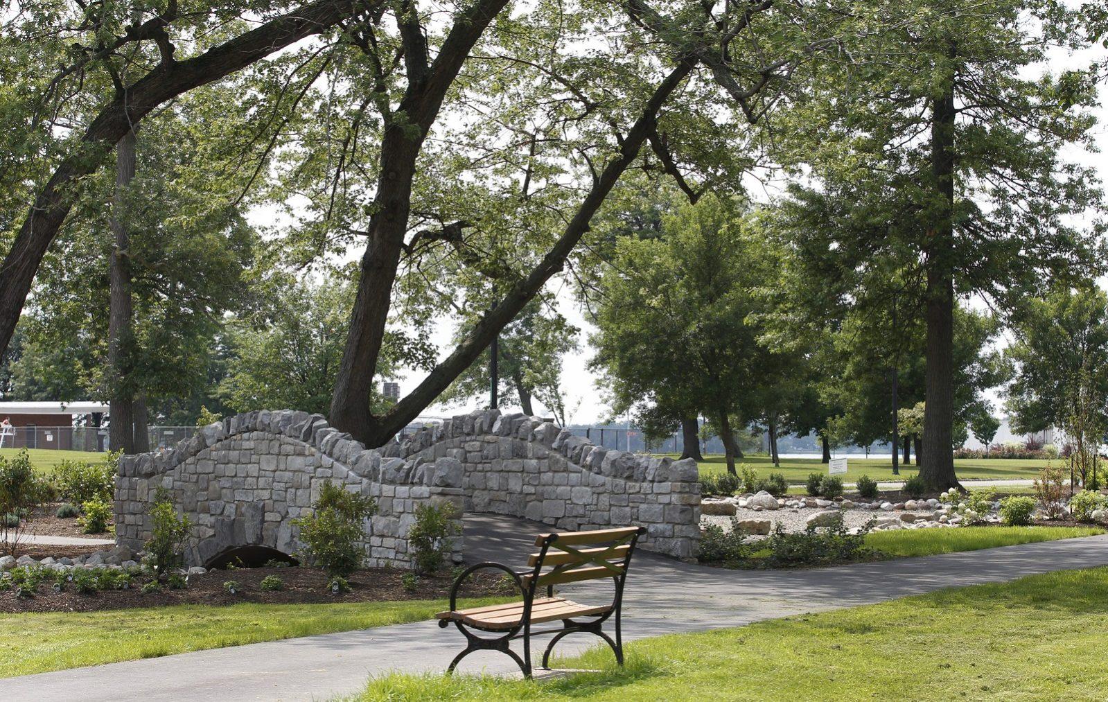 RiverRock Gardens in Riverside Park. (Sharon Cantillon/News file photo)