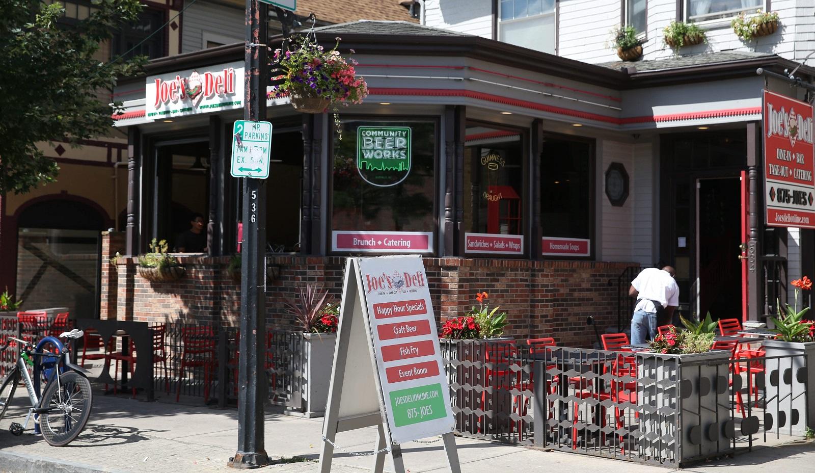 The Joe's Deli's location at 534 Elmwood Ave. has closed. (Sharon Cantillon/Buffalo News)