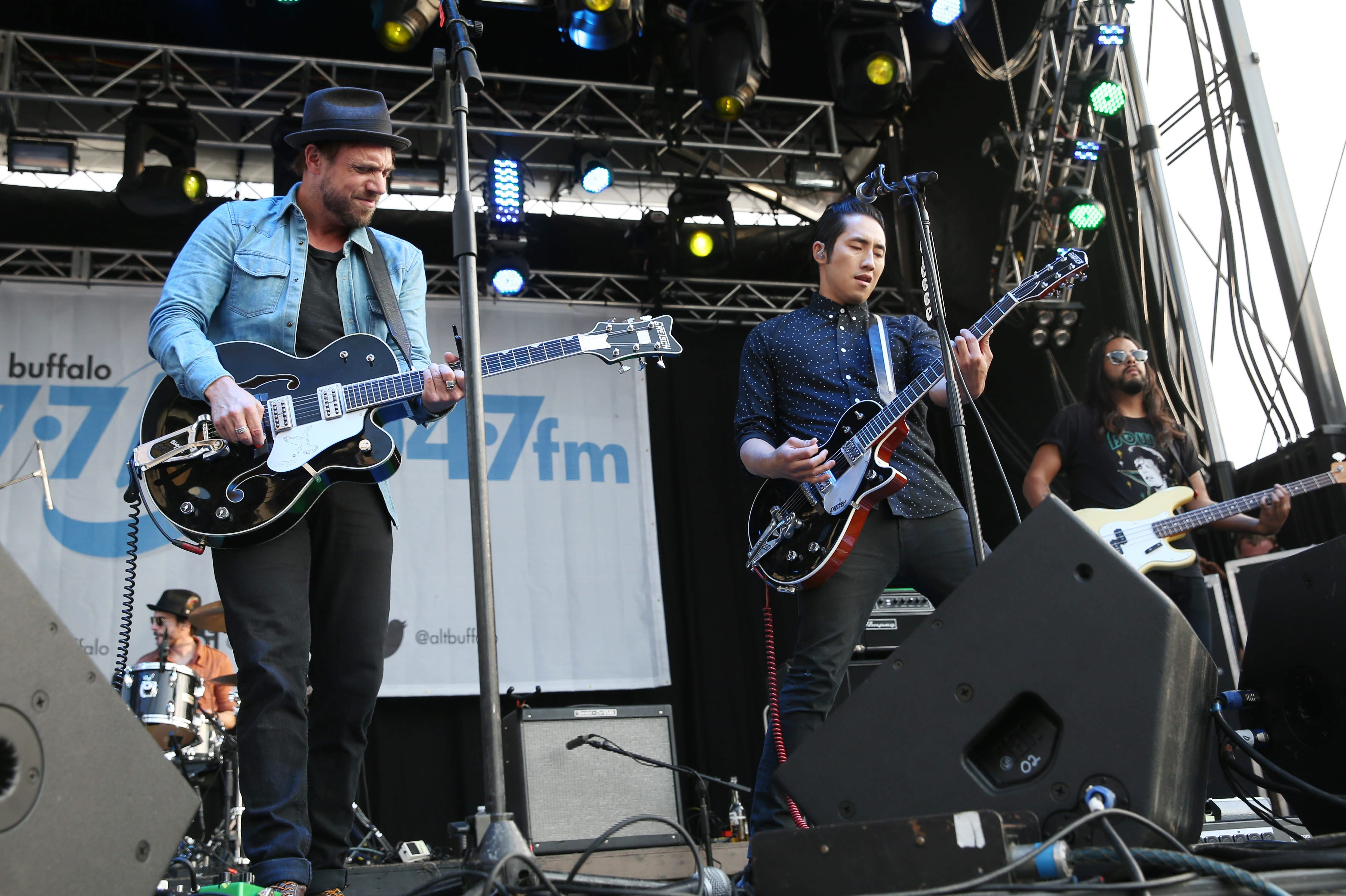 Airborne Toxic Event was part of  July's Kerfuffle at Canalside.