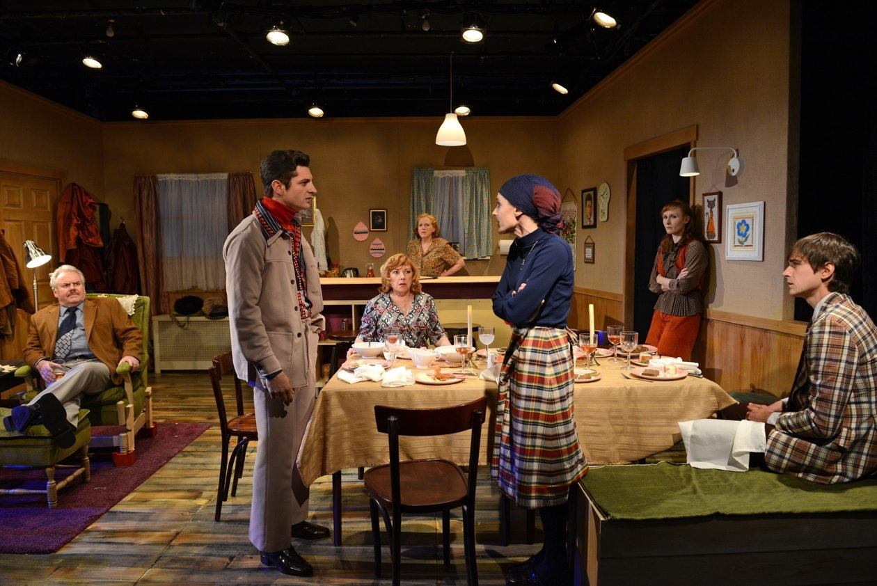 'For Heaven's Sake,' shown here during a 2014 production in New York City under the title 'The Brightness of Heaven,' runs through Oct. 4 in 710 Main Theatre.