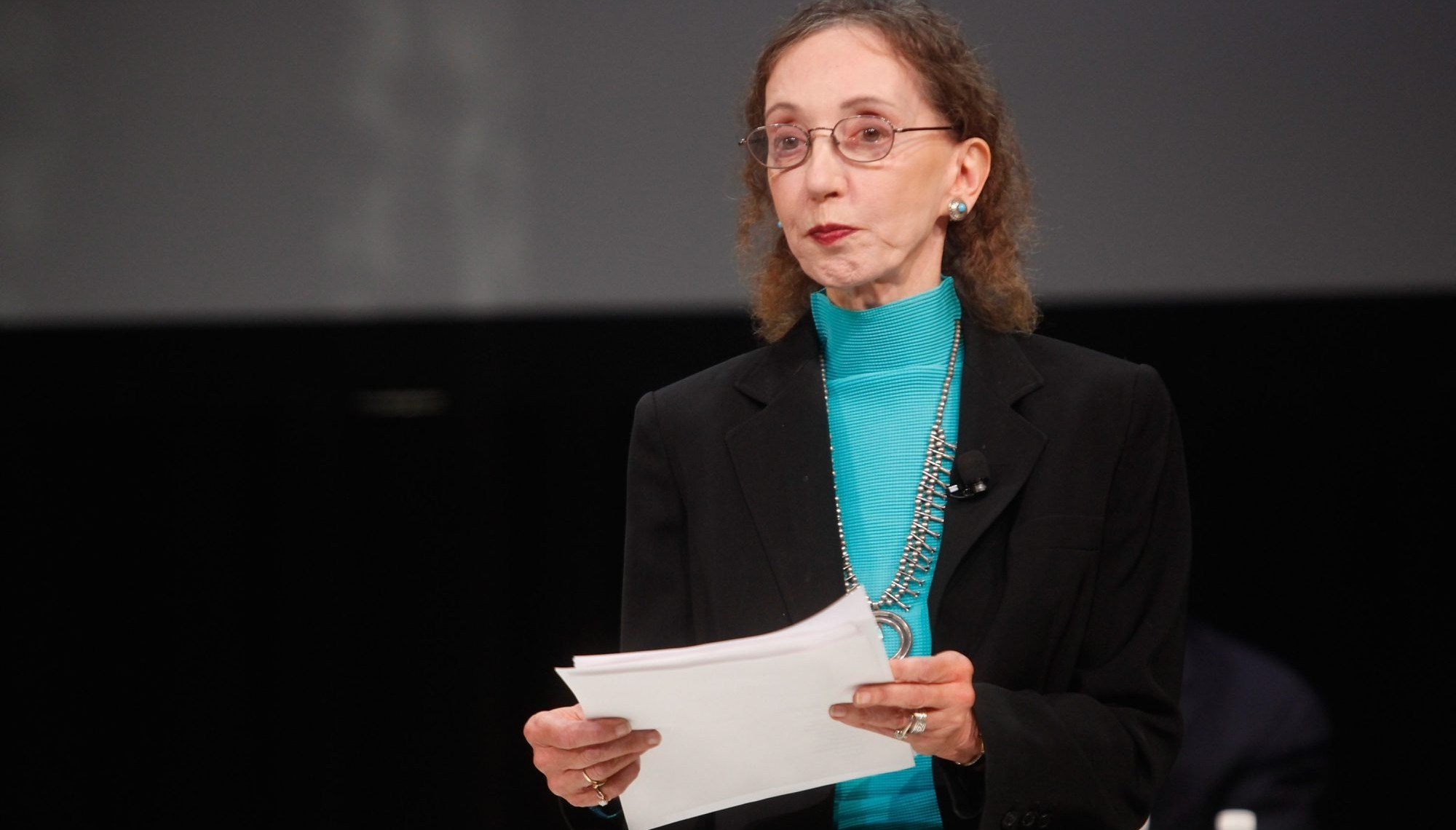 Joyce Carol Oates will speak at the David A. Howe Public Library of Wellsville on Oct. 2. (Getty Images)
