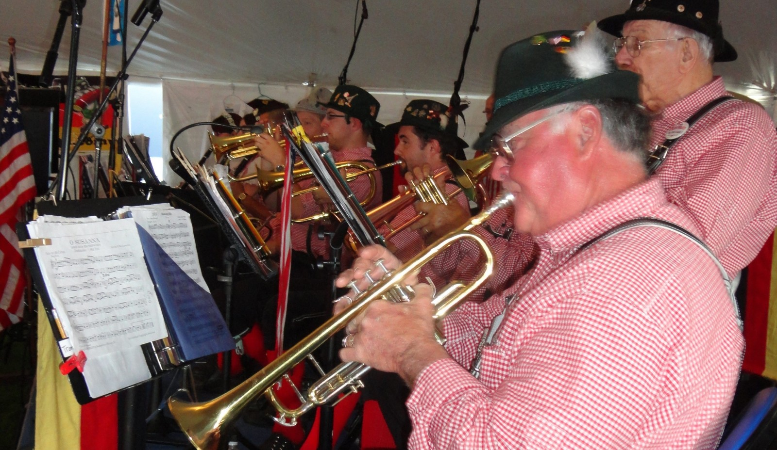 The band German American Musicians will perform at Old Falls Street Oktoberfest.