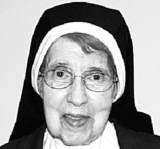 SISTER MARY VERONICA DEL VECCHIO, FMDC, OSF,