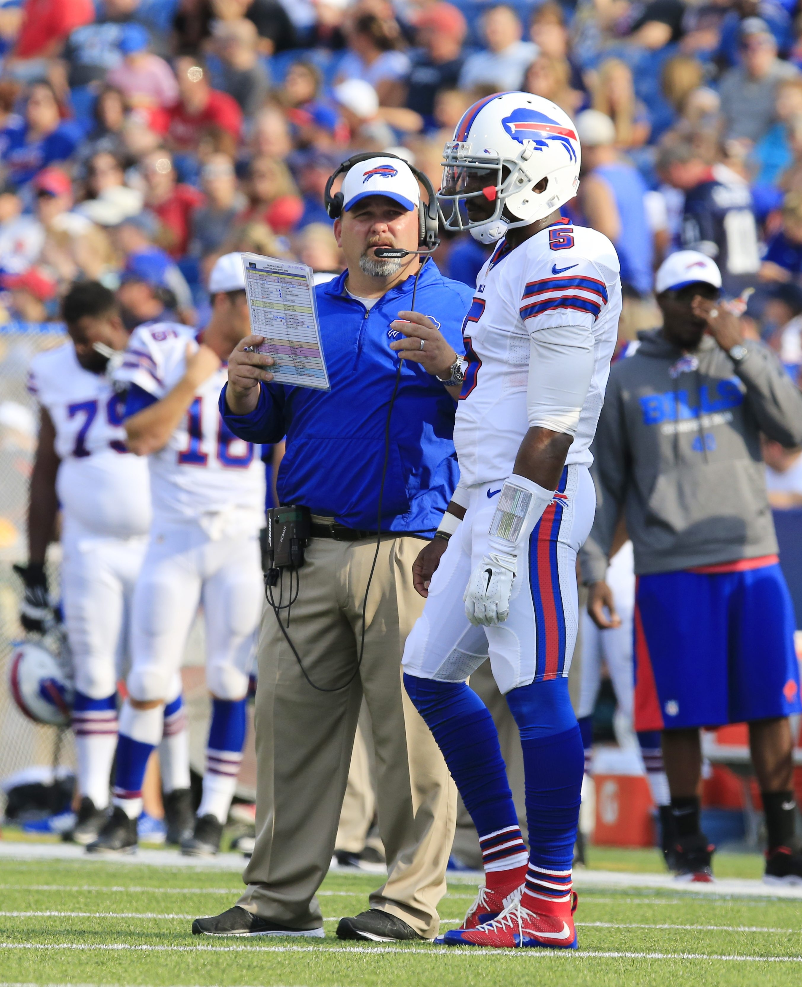 The offensive system that Greg Roman employed in San Francisco provides clues to how he will utilize Tyrod Taylor and his running ability for the Bills.