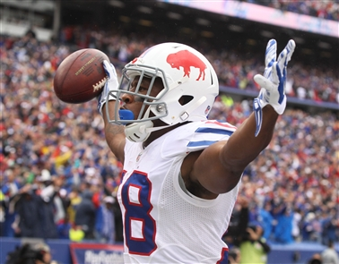 Percy Harvin is one of several playmakers that made an impact on the Bills' big season-opening win. (James P. McCoy/Buffalo News)