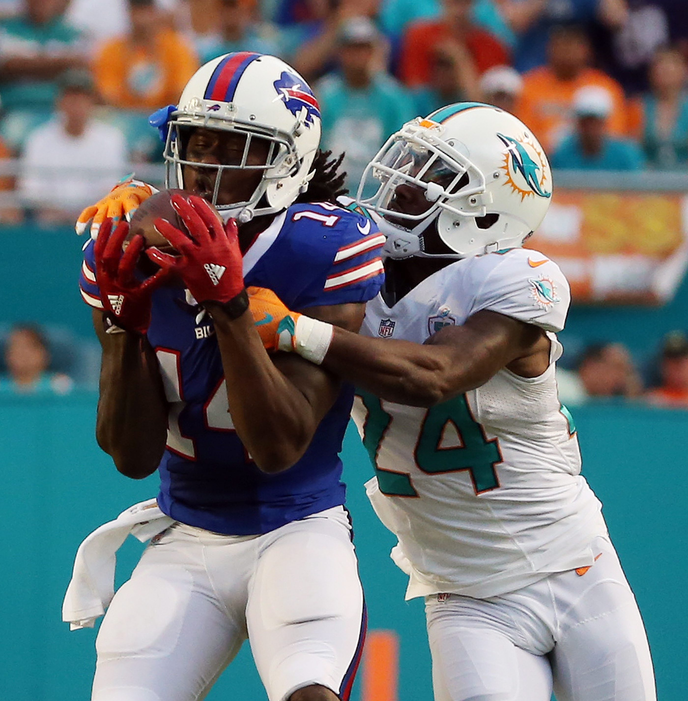 Bills receiver Sammy Watkins has a calf issue, rookie guard John Miller is battling a groin injury and running back LeSean McCoy is dealing with a nagging hamstring  injury.
