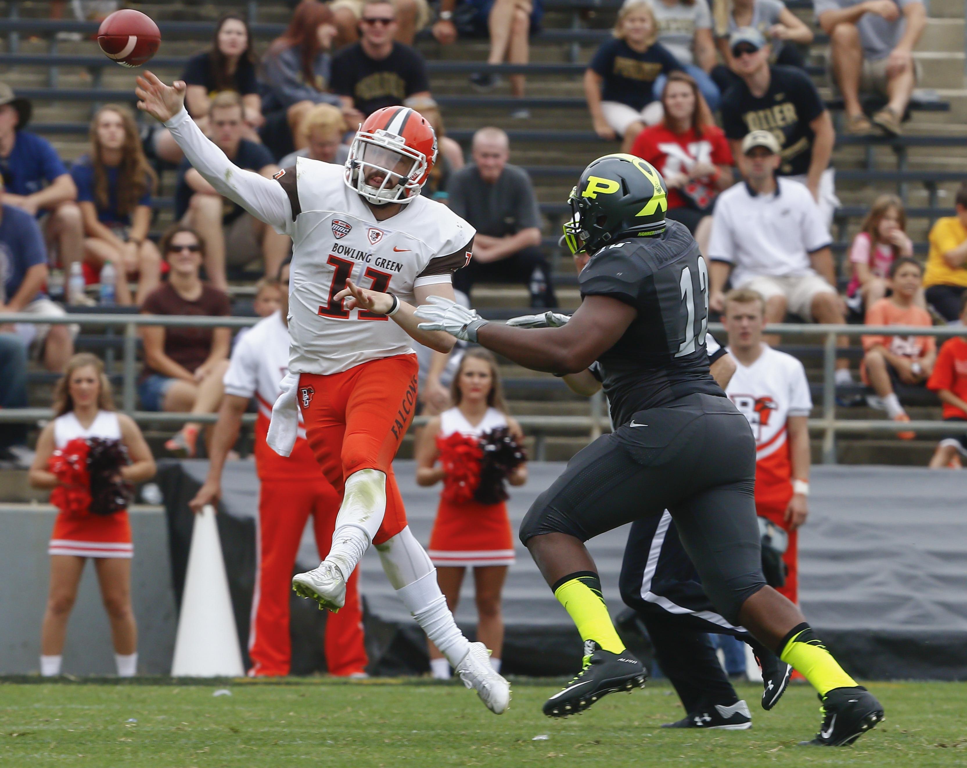 Bowling Green quarterback Matt Johnson has thrown for more than 400 yards in all four games this season.