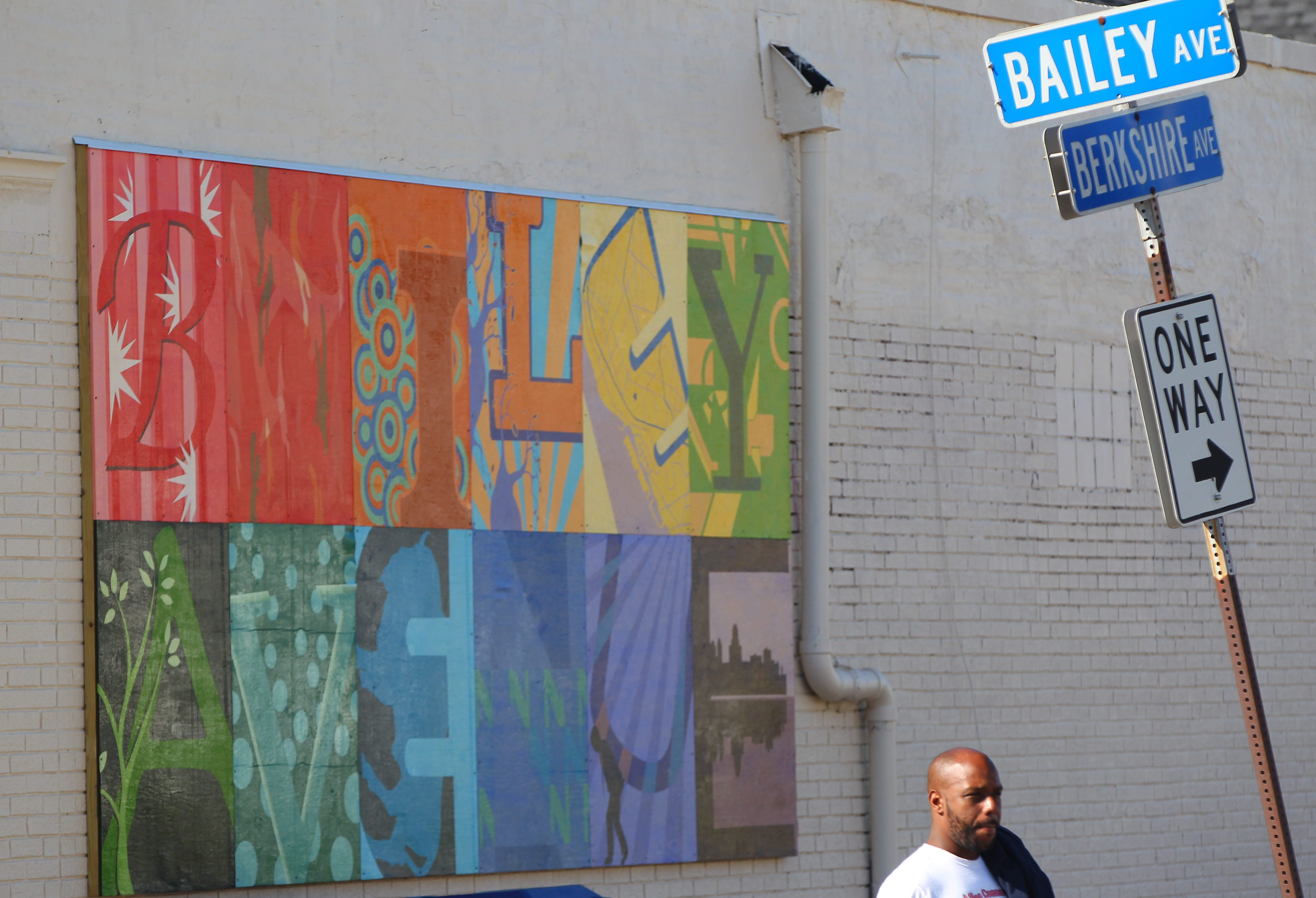 More than half of the 150 properties along Bailey Avenue are considered dilapidated by the Bailey Avenue Business Association. Some of the properties, however, have received a fresh coat of paint with the goal of attracting mixed-use development of the vacant buildings.