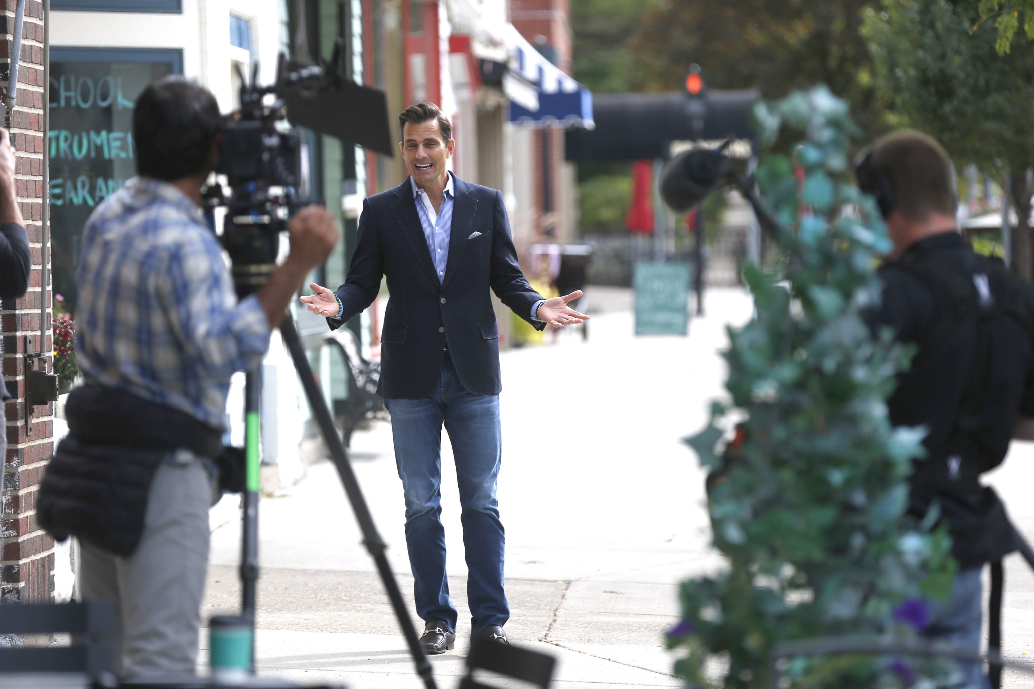 """This is probably one of the most vibrant Main Streets I've seen in a long time,"" said Bill Rancic, who was in East Aurora last week to promote Vidler's bid to win a 30-second commercial during the Super Bowl telecast."