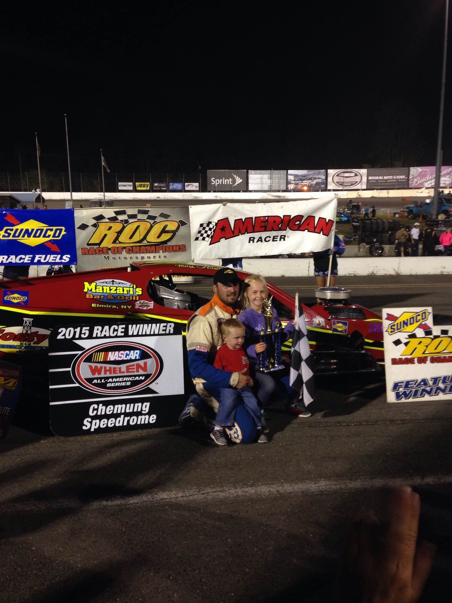 Tony Hanbury won the 2014 Sunoco Race of Champions (ROC) Asphalt Modified Tour 125. The 27th edition of the race will be run this weekend at Lancaster.