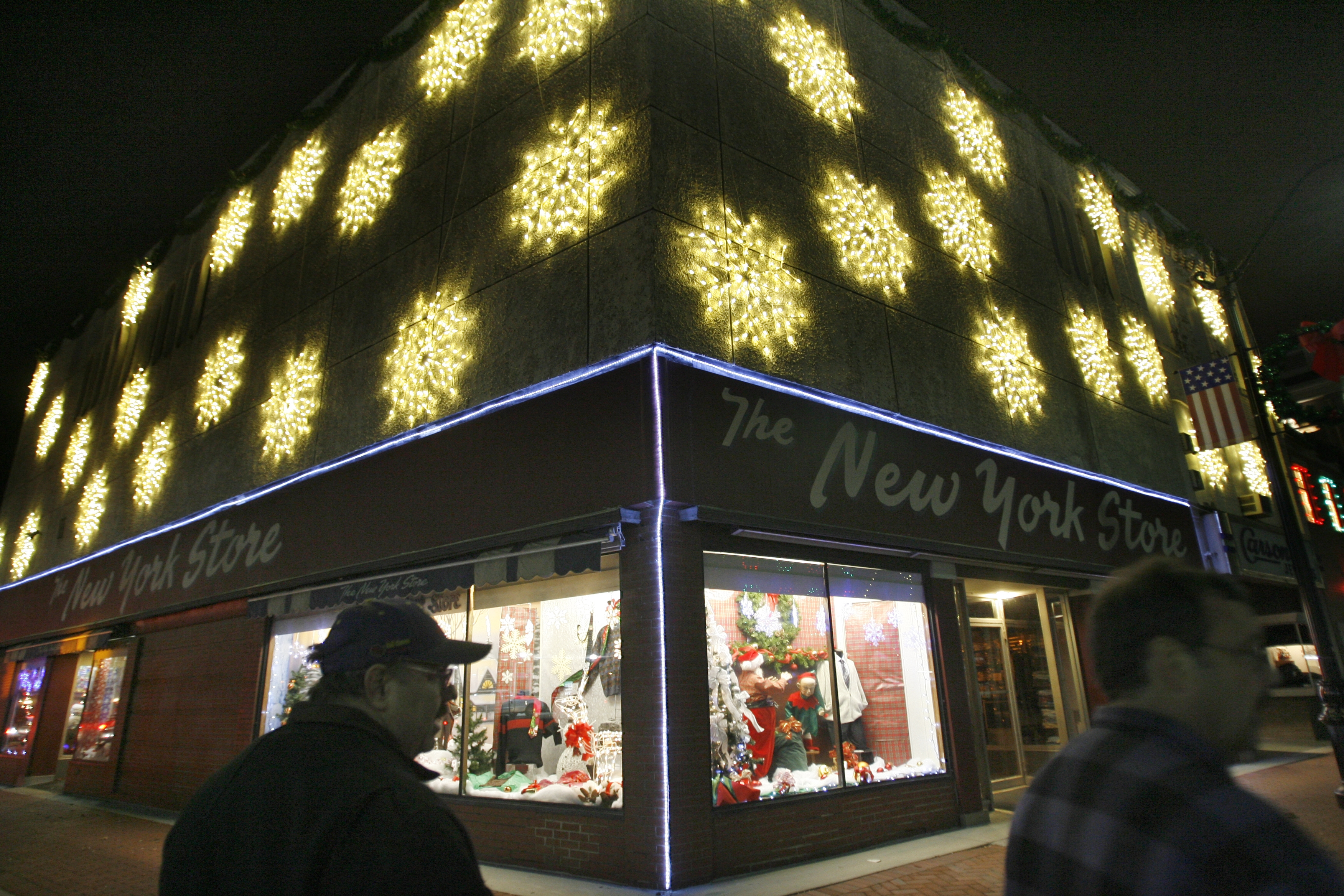 Christmasville on West Main Street has provided the Village of Lancaster with a decade of seasonal brightness, but costs related to damage from last winter are threatening its fate.