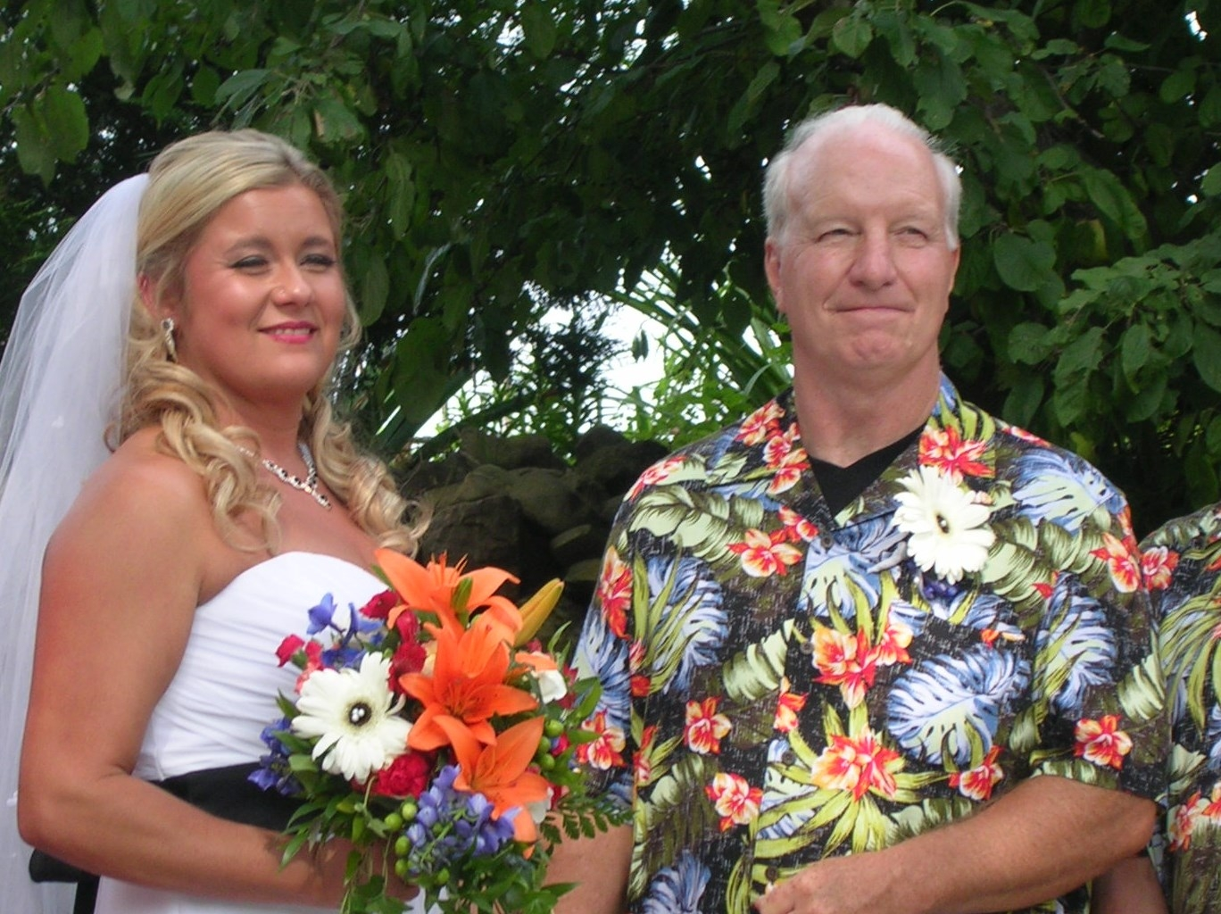 Suzanne Dunn and George Stevens are wed in Bennington
