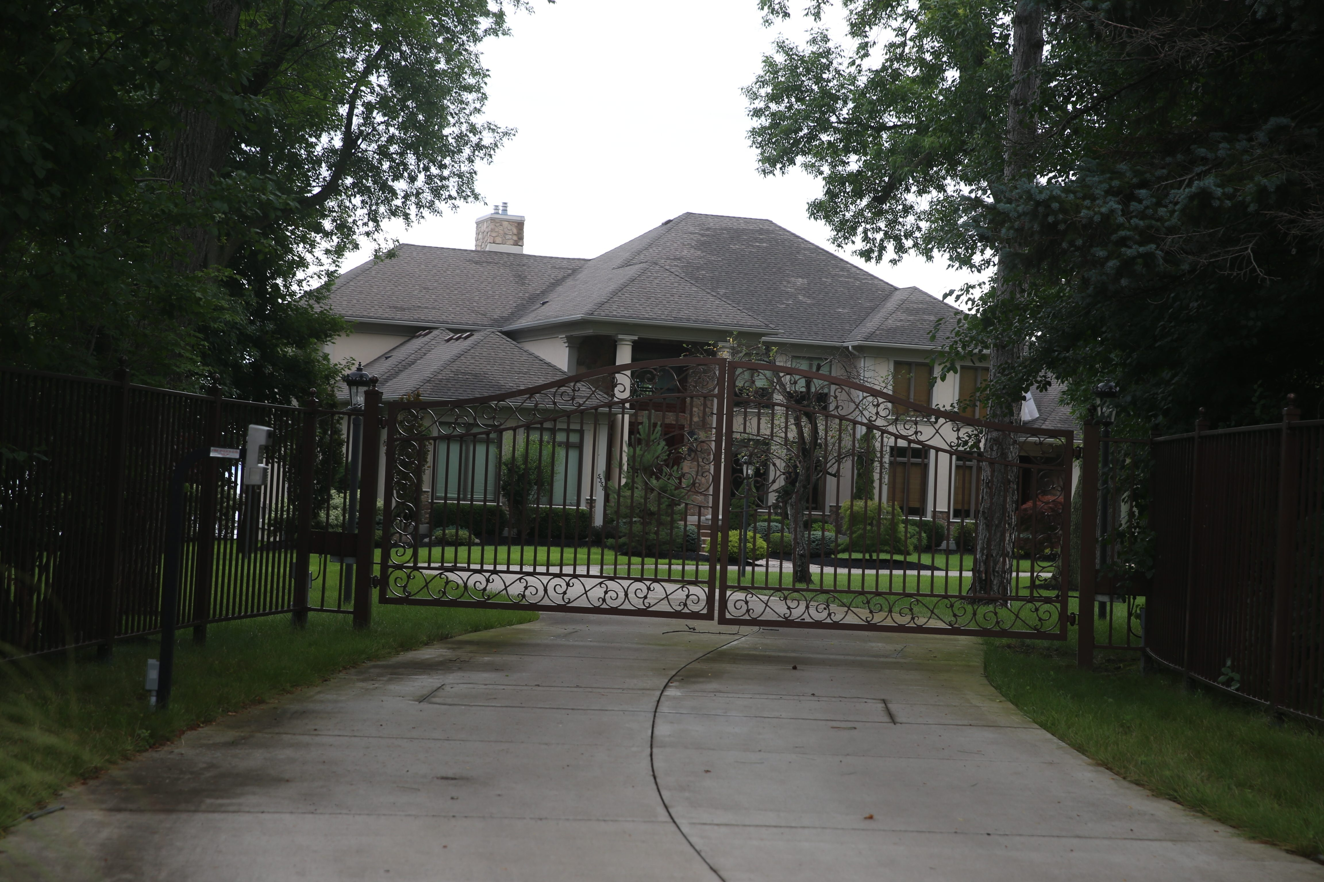 The alleged sexual assault took place in this home, owned by Patrick Kane, at 5358 Old Lake Shore Road in Lakeview.