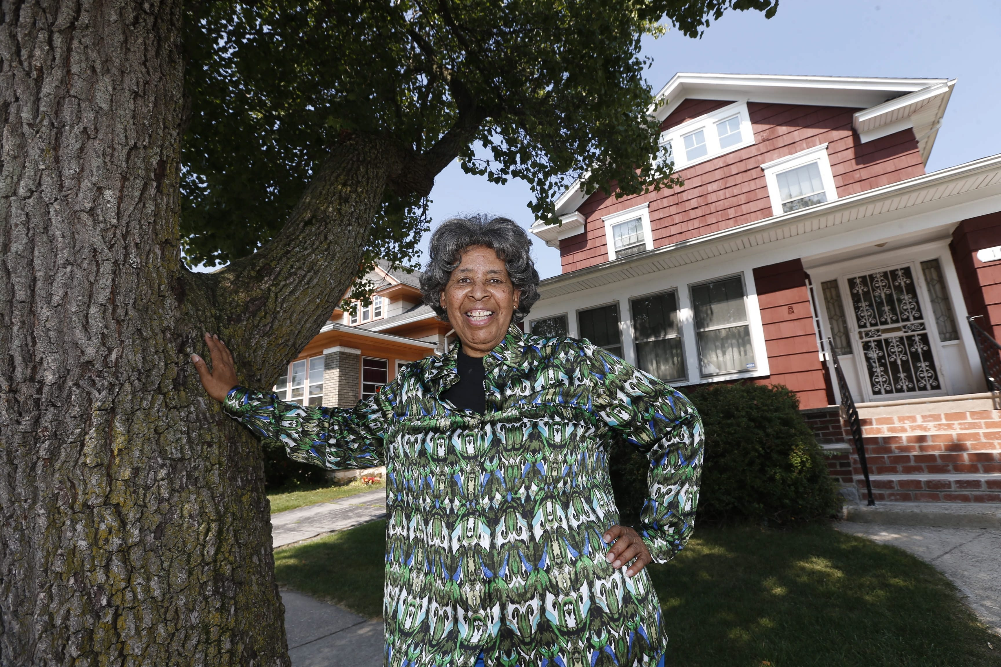 Marion Mayfield bought her Hamlin Road home in 1967, when she was 24, and has lived there ever since.