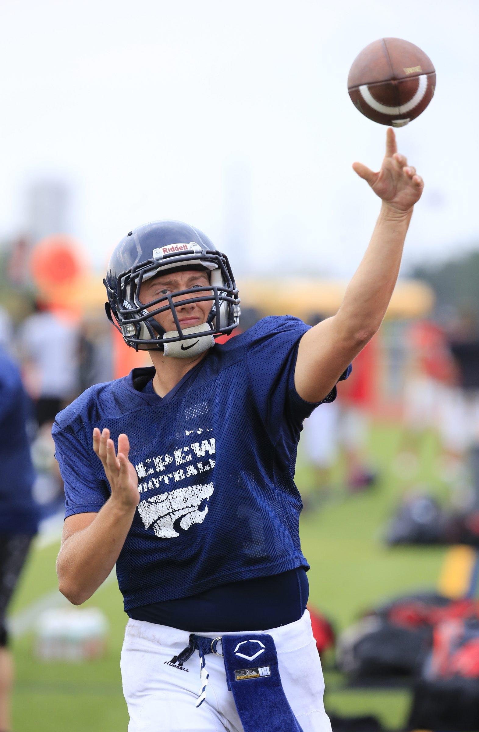 Ryan Guay is the new quarterback at Depew, taking over for Dylan Sekuterski, who graduated.