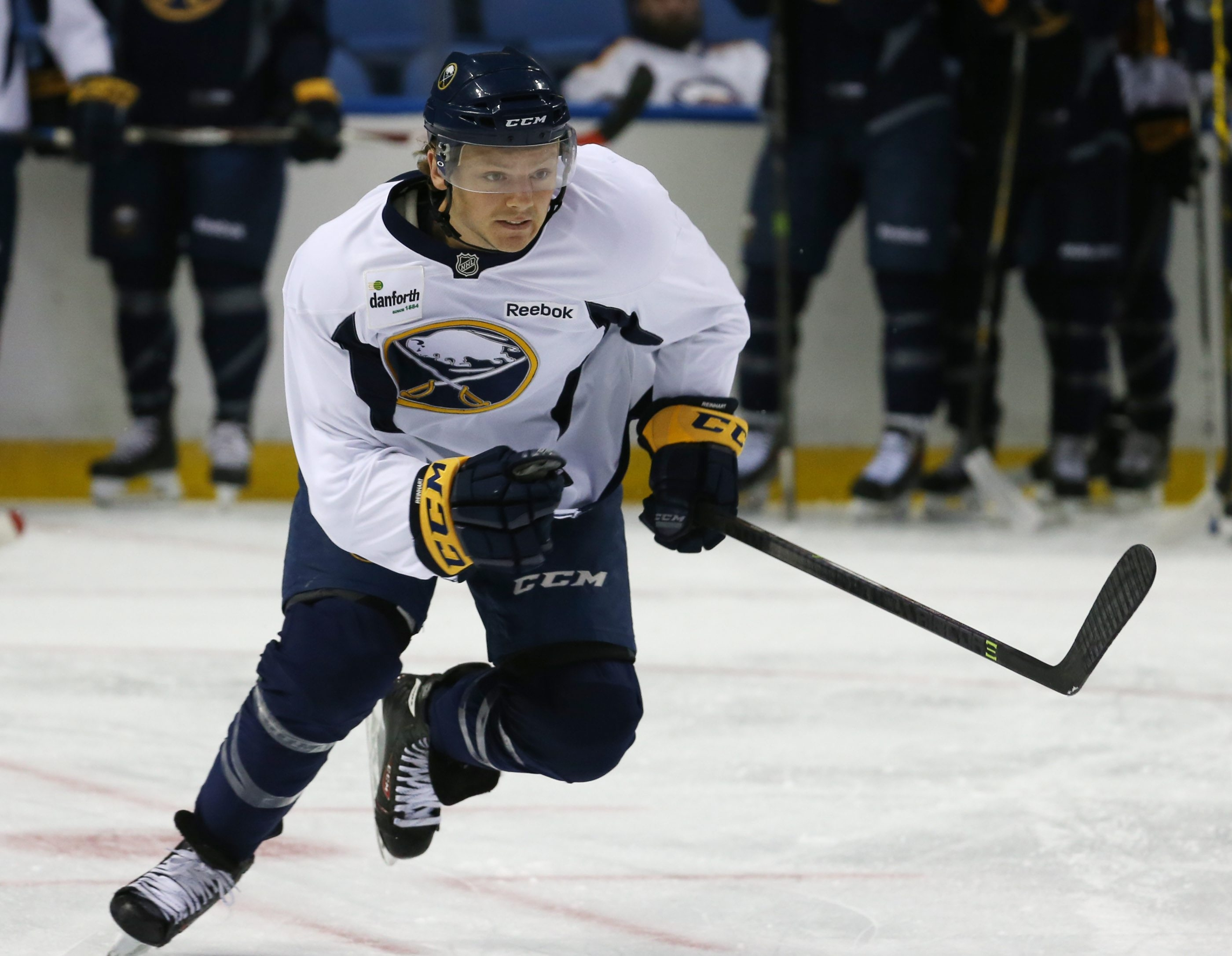 For the first time in his career, Sam Reinhart spent most of his summer doing power-skating work.