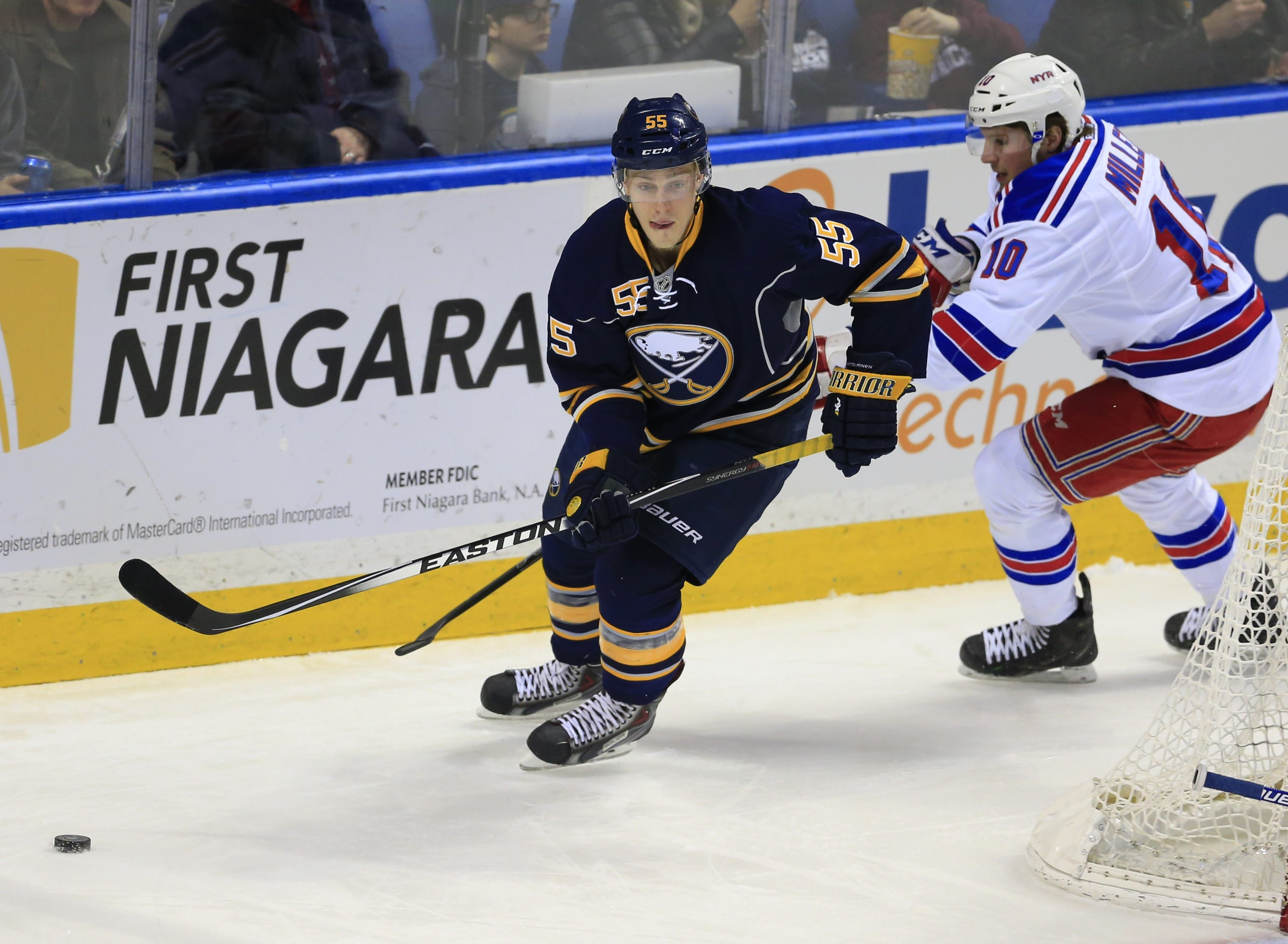 Defenseman Rasmus Ristolainen, who is expected to be counted on heavily by the Sabres this season, will miss 7-10 of training camp with an upper-body injury.