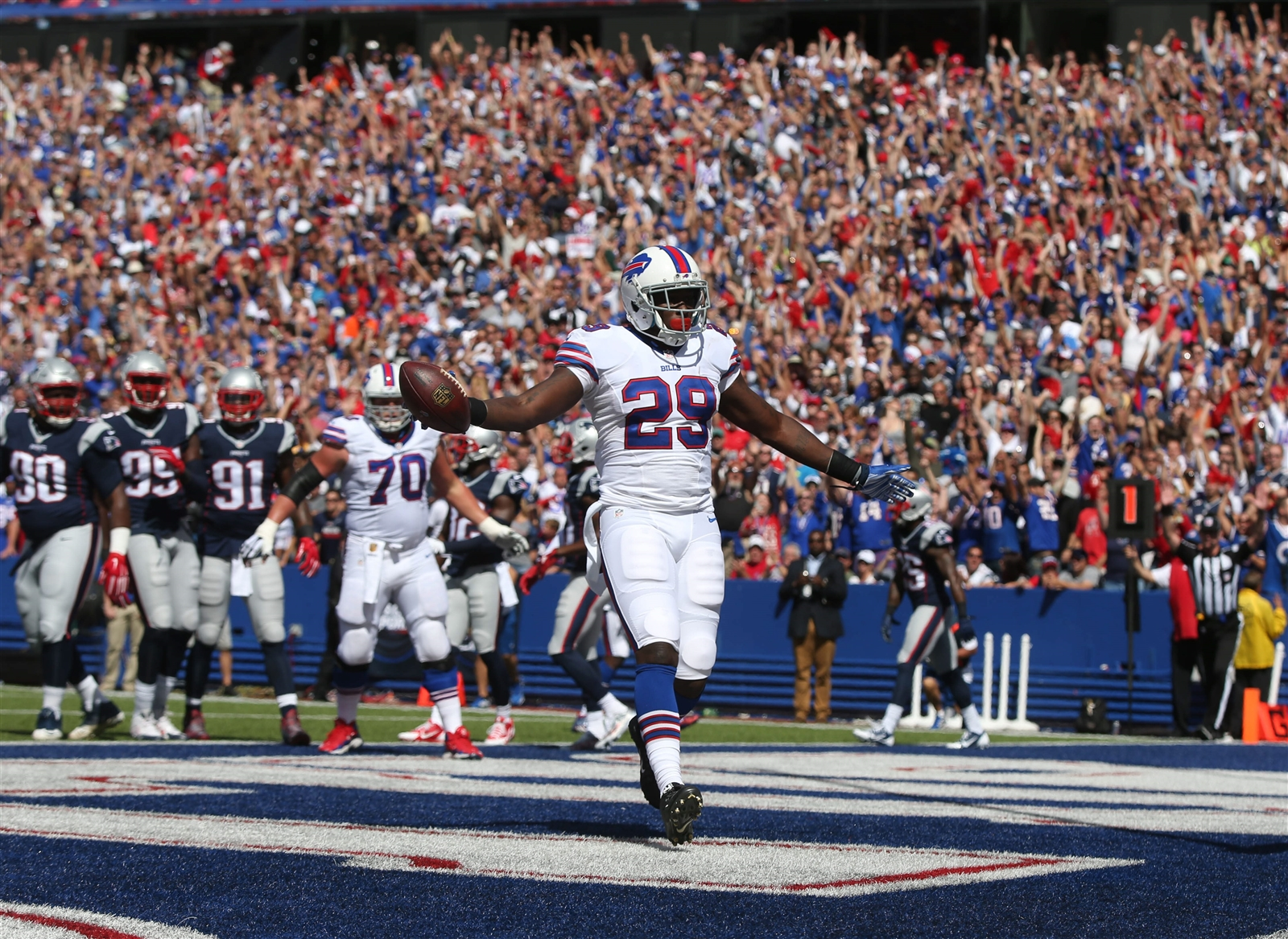 Things couldn't have gone better for the Bills -- in the opening five minutes. (Buffalo News)