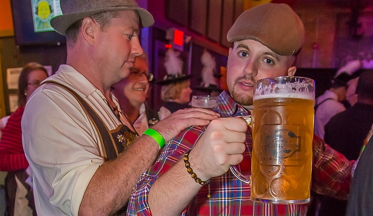 Big steins and German apparel should get you in the mood for Octoberfests, which kick off at Resurgence and Buffalo Iron Works this weekend. (Don Nieman/Special to The News)