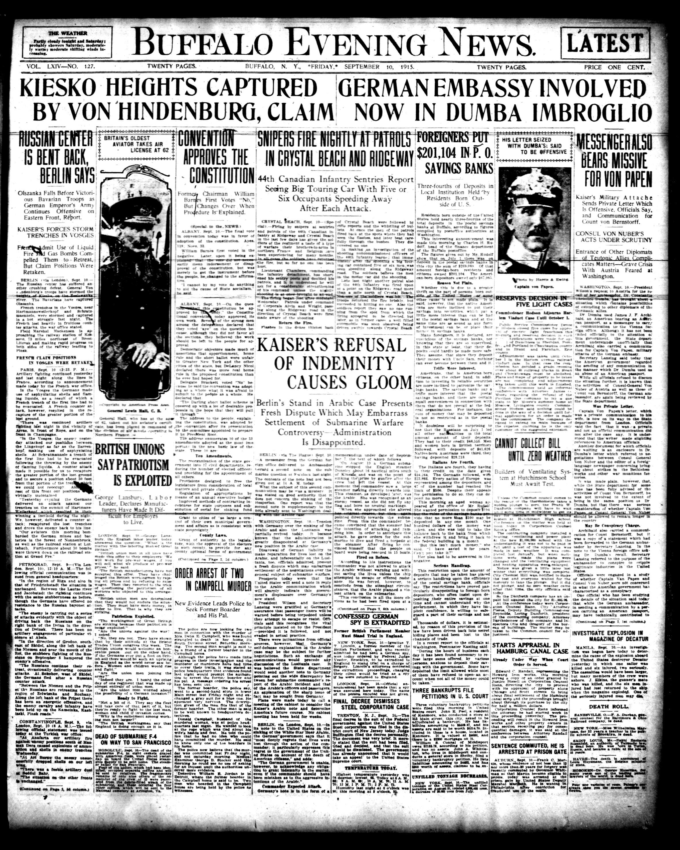 Sept 10 1915