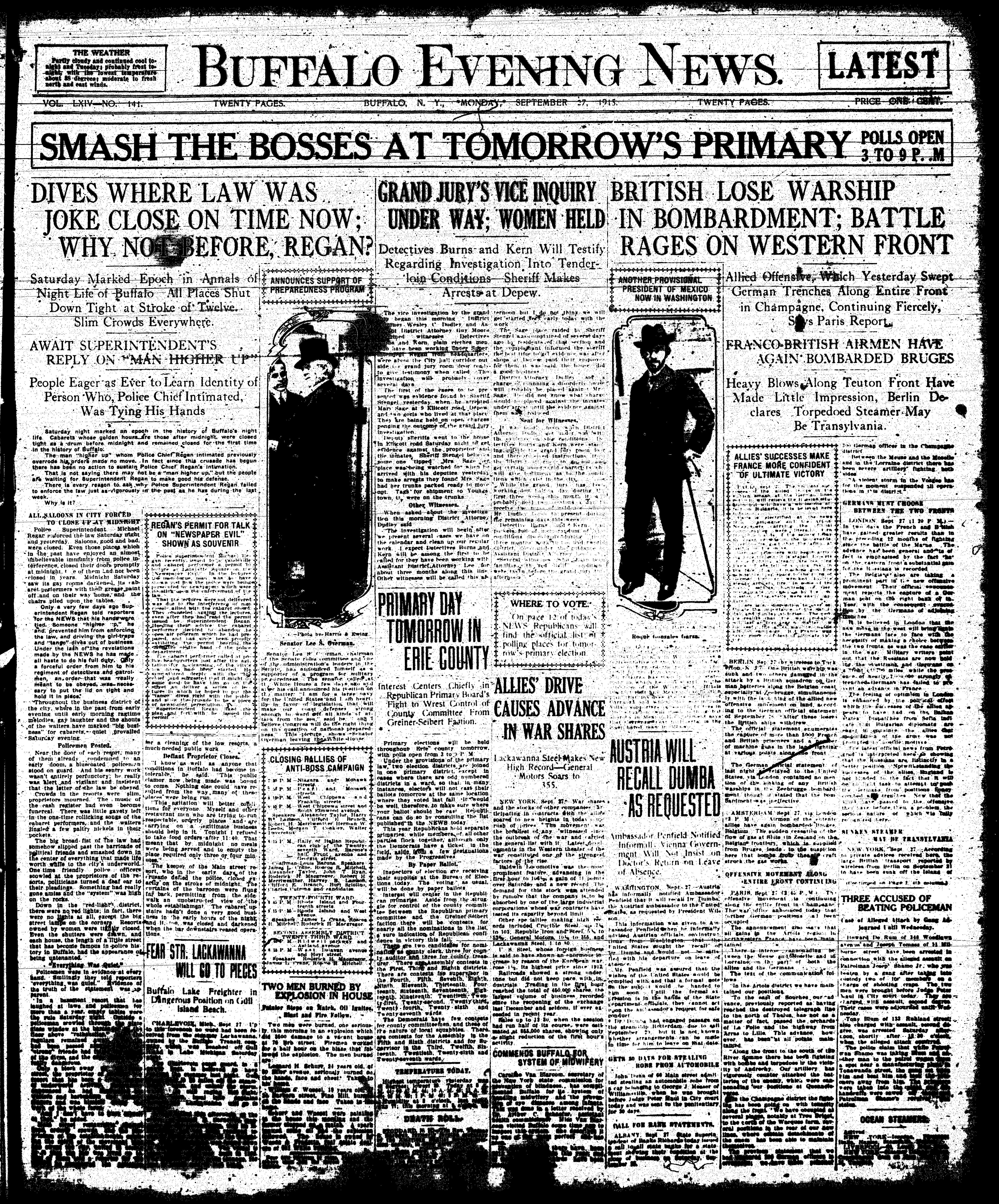 Sept 27 1915