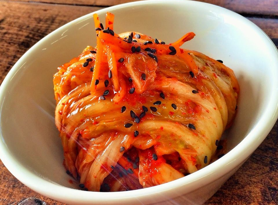 R.J. Marvin's kimchi skills are coming along nicely. (Photo: Facebook)