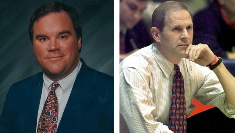 John Murphy, left, and John Beilein, right, were childhood friends in Lockport.