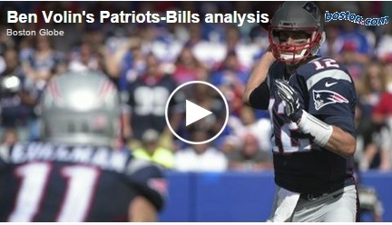 New England media analyzed the Patriots' win in Buffalo.