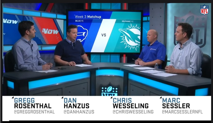 Watch previews from the NFL Network, Sun-Sentinel, WGRZ and The Buffalo News.