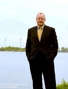 Robert Knoer  helped other regional environmental leaders bring windmills to the former Bethlehem Steel site.