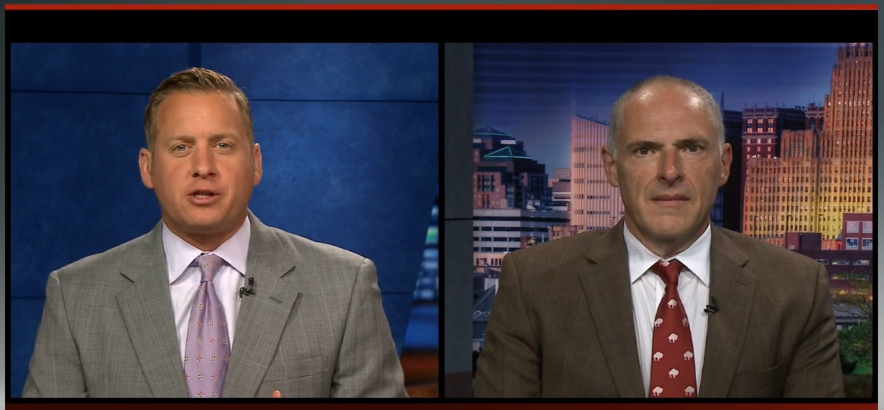 Vic Carucci joins Adam Begnini on WGRZ Ch. 2 each Tuesday.
