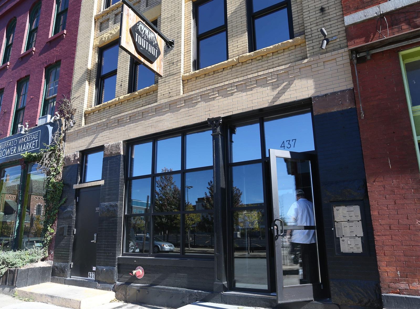 Toutant at 437 Ellicott St. in downtown Buffalo serves southern American cuisine. (Sharon Cantillon/Buffalo News)