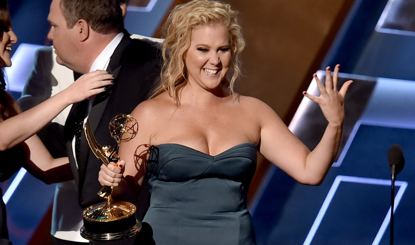 Amy Schumer  goes beyond Joan Rivers.