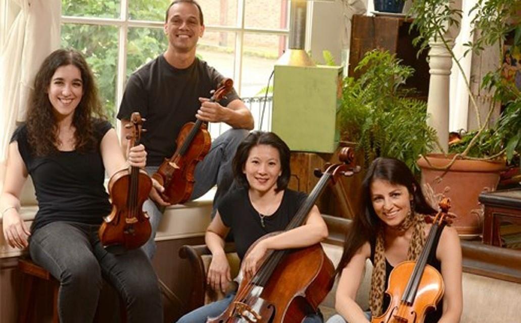 Carpe Diem String Quartet kicks off the Chamber Music Series Tuesday in the Mary Seaton Room of Kleinhans Music Hall.